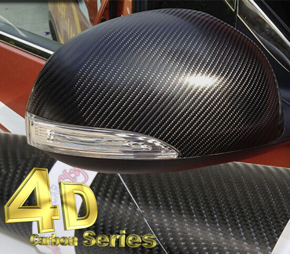 4d Gloss【black1520mm 59 8in X300mm 11 8in 】carbon Fibre