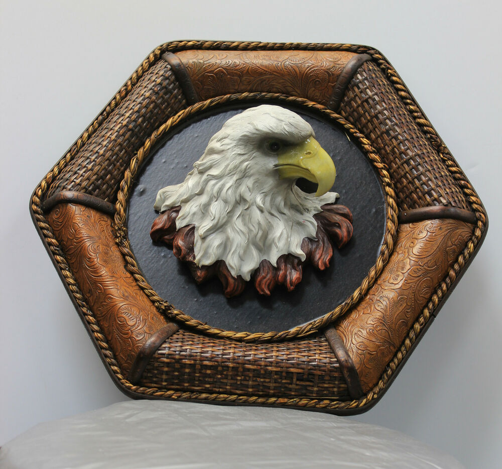 Wall Decor Home Decoration Wicker Eagle Wall Art | eBay