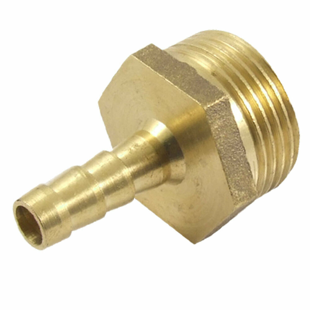 Bsp male thread mm air water hose brass barb fitting