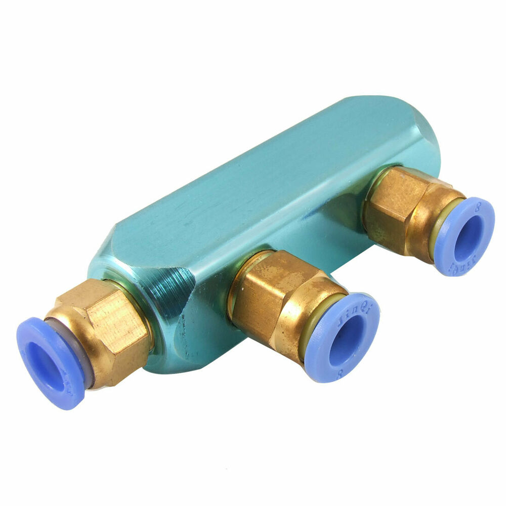 Mm pneumatic air hose piping way one touch fittings