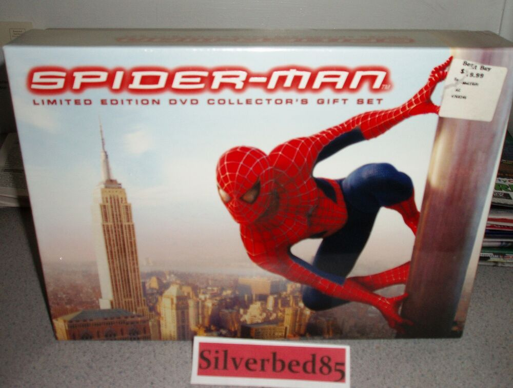 Spider-Man DVD 2002 3-Disc Box Set Limited Edition ...