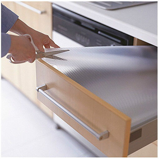 kitchen cabinet shelf liner ikea drawer mat 59x19 quot shelf liner cabinet storage pad 5751