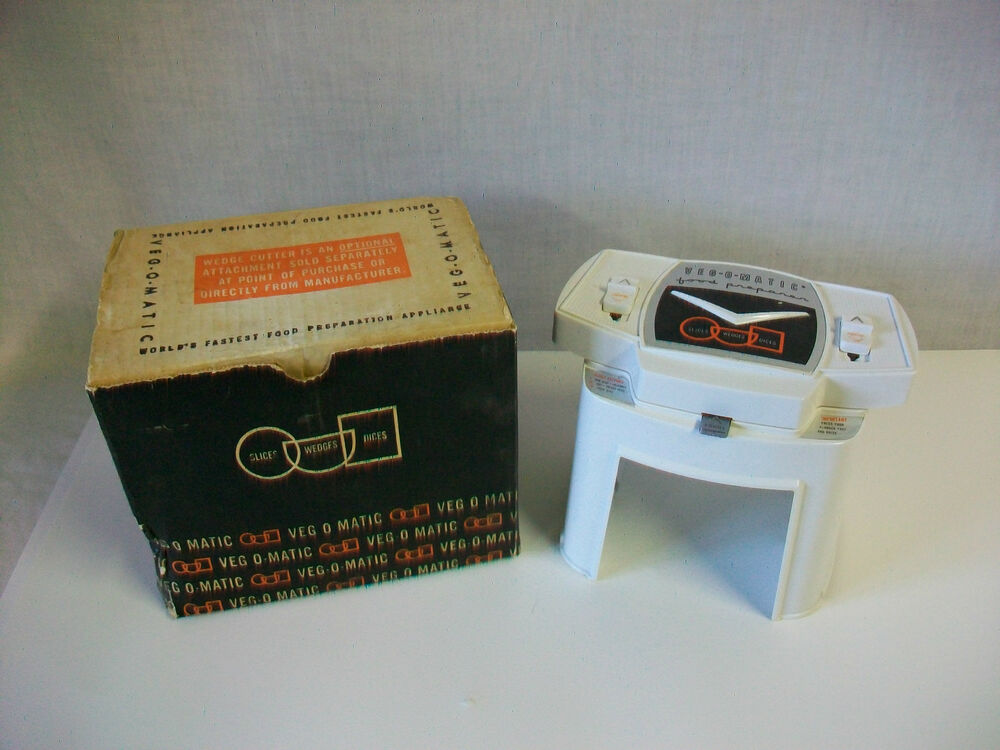 vintage 1961 veg o matic food preparer by popeil brothers