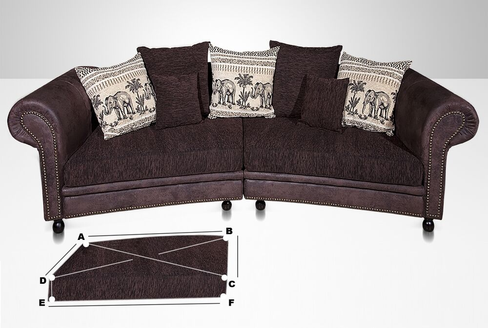 Big sofa kolonialstil gunstig das beste aus wohndesign for Couch kolonialstil