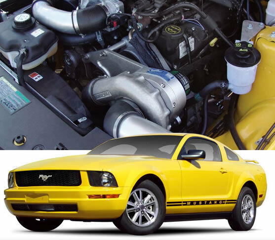 Ford Mustang Supercharged South Africa: Mustang V6 P1SC Procharger Supercharger Complete Stage II