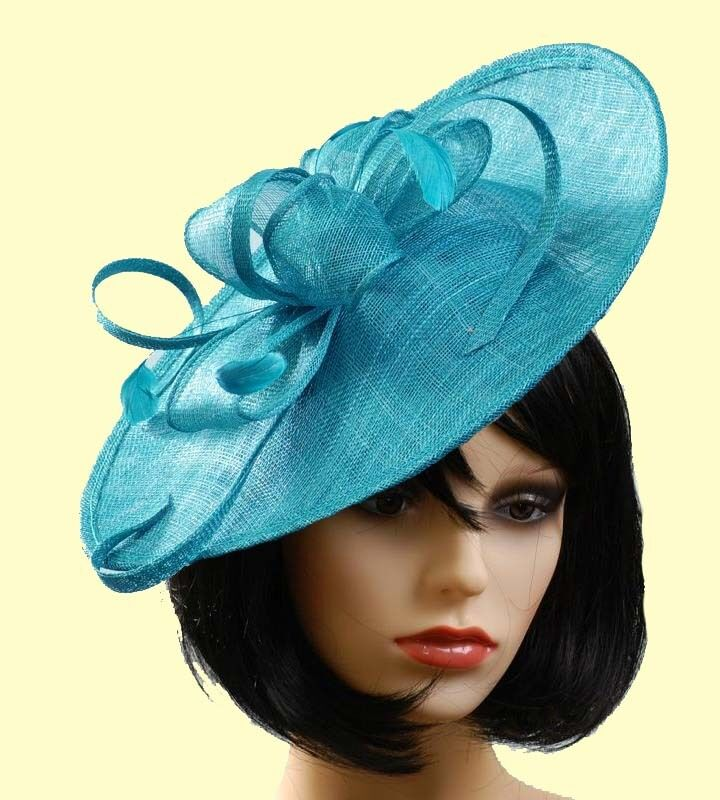 new wedding fascinator disc ascot day hat bymax