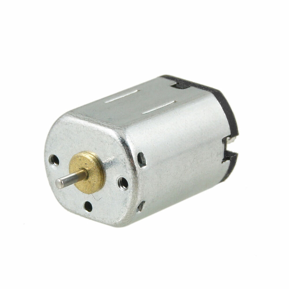 Magnetic mini motor 4 5v dc 18000 rpm for electronic toy for Small dc electric motor