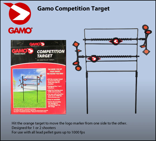 Colorado Shooting Competitions: BSA Gamo Spinning Competition Target For Air Pistol / Gun