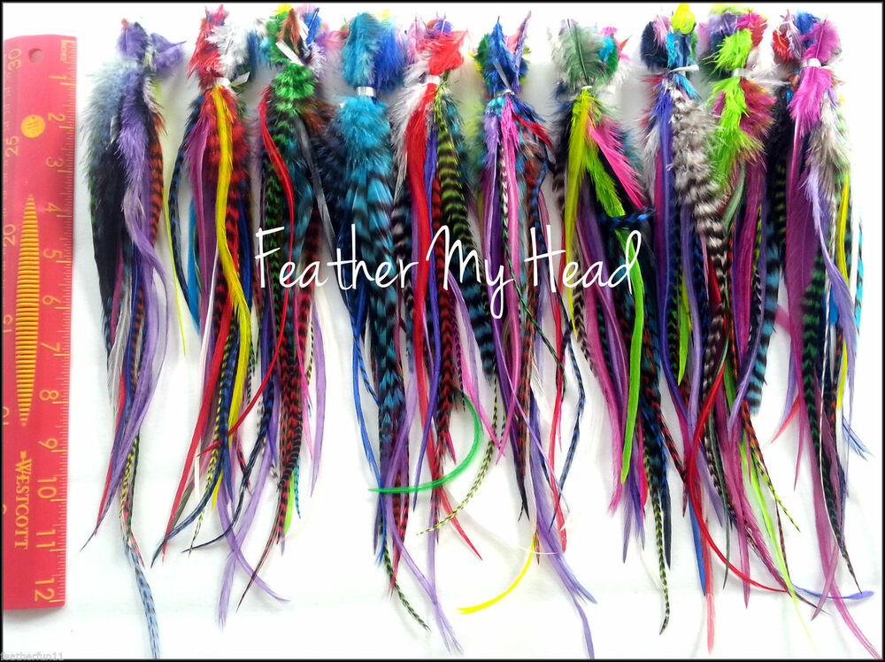 Feather Extensions Cheap 100