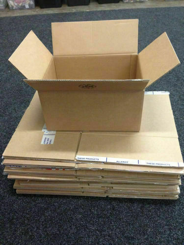 20 Used Double Wall Cardboard Boxes House Moving Removal