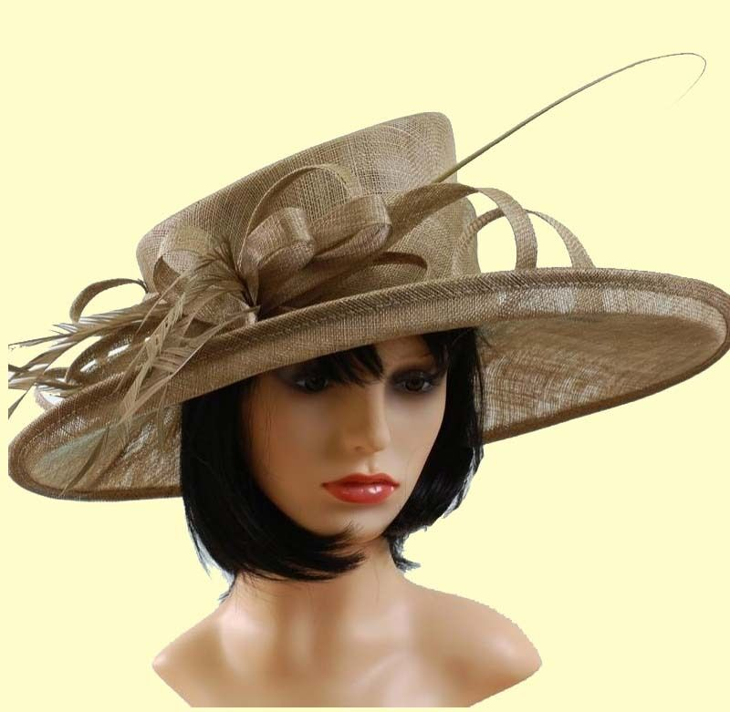 Big Brim Wedding Hat Ascot Race Hat Mother Of The Bride