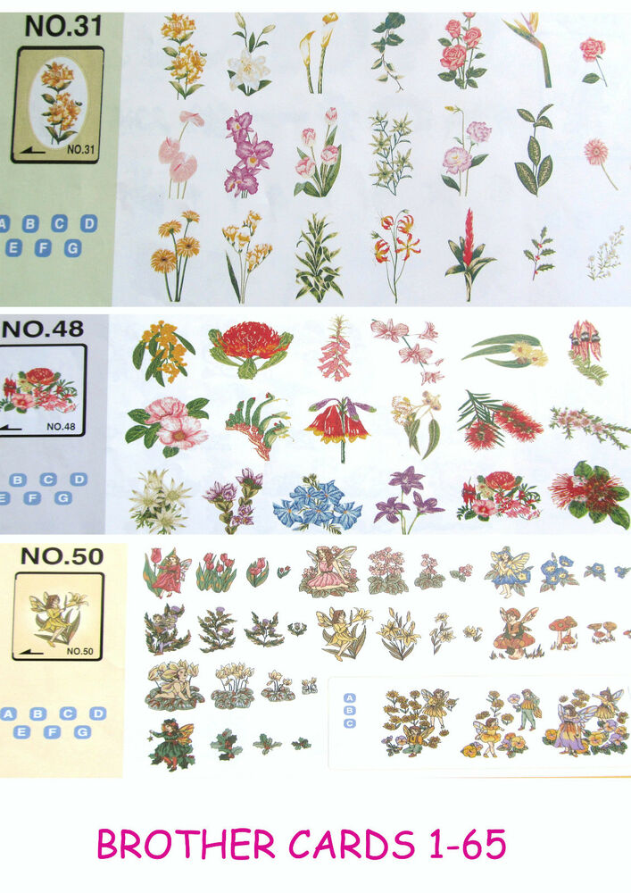 Free Machine Embroidery Card Designs