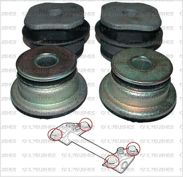 fiat punto 176 rear subframe bushes ebay. Black Bedroom Furniture Sets. Home Design Ideas