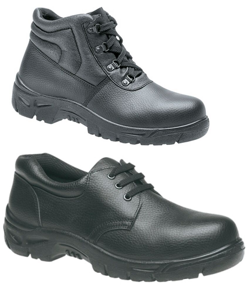 mens safety trainers ladies shoes boots work steel toe cap. Black Bedroom Furniture Sets. Home Design Ideas
