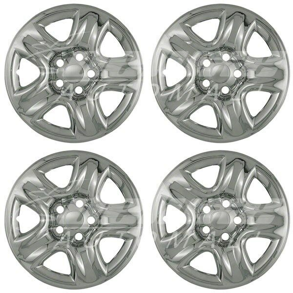 Chrome Wheel Skins Hubcaps 16 Quot Fits Toyota Rav4