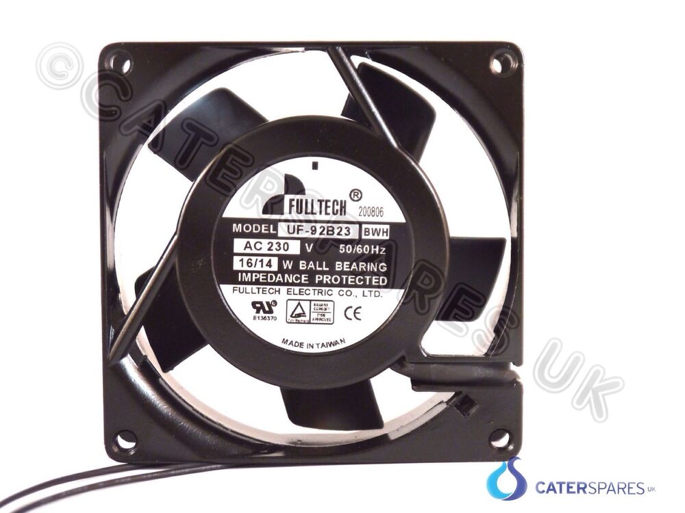 Axial Fan Parts : Fulltech v axial fan square cooling panel motor
