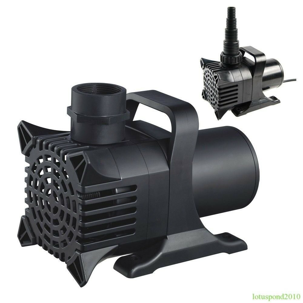 Fish pond pump water fountain waterfall pump 800 10 000 for Pond water pump