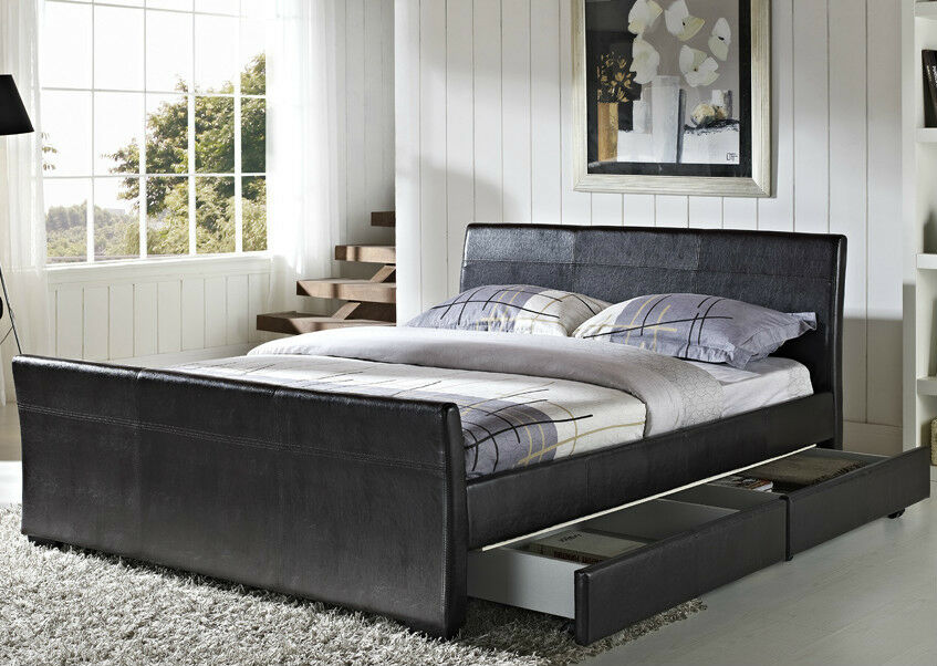 King Size Wooden Beds Ebay