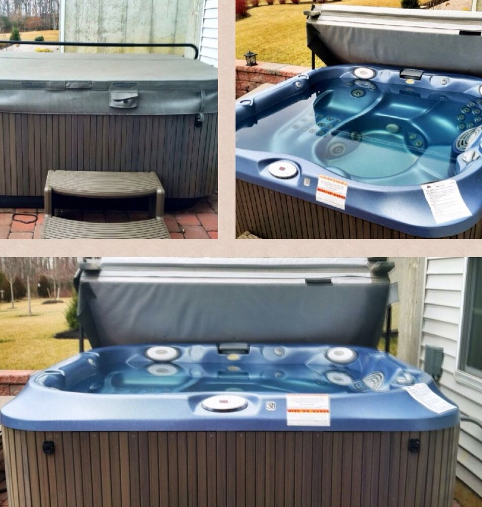 2011 Jacuzzi Hot Tub J334 Seats 4 6 People Ebay