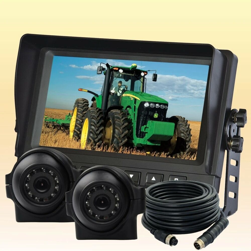 7 U0026quot Digital Rear View Backup Camera System 2 Side View