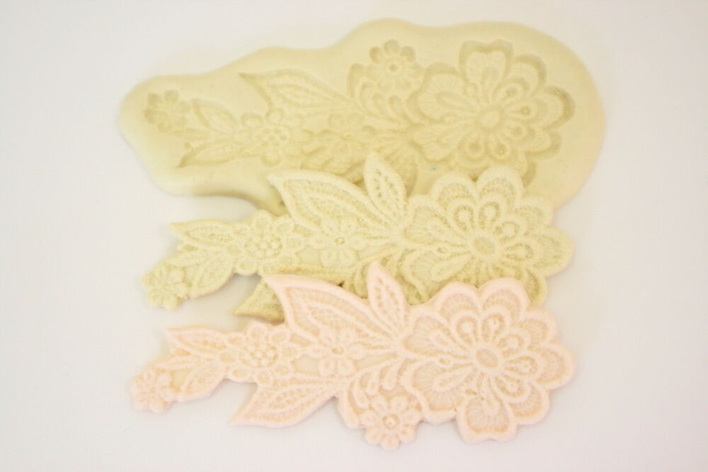 Cake Decorating Sugarcraft Moulds : Lace Mold sugarcraft Mould,Cake Decorating Tool Fondant ...