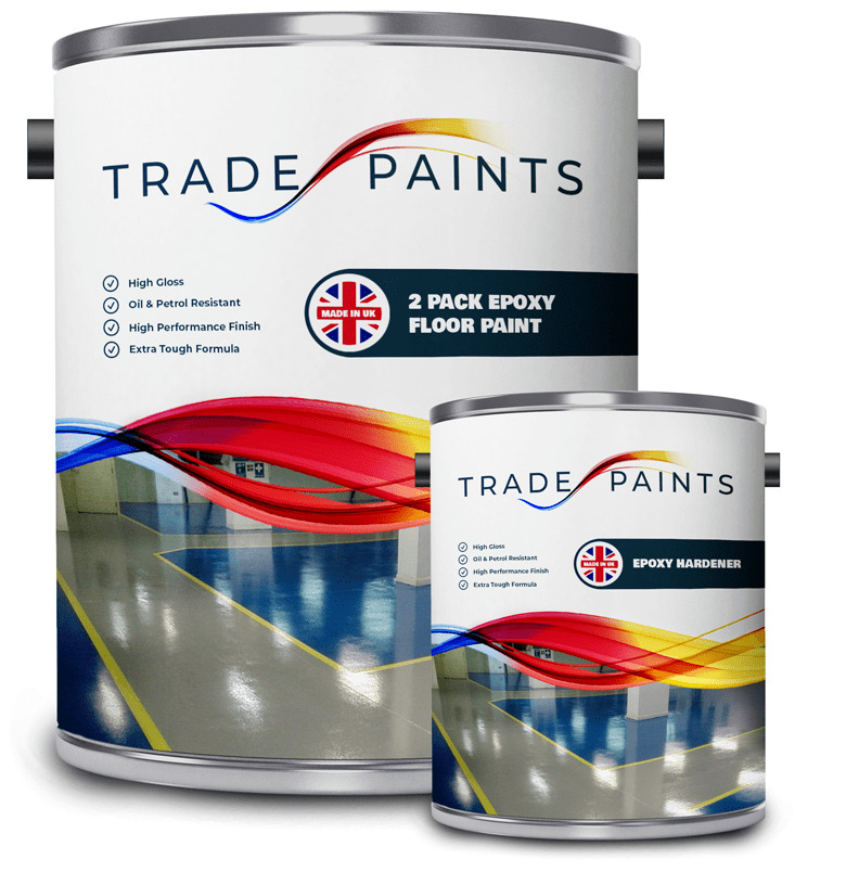 Epoxy Resin Garage Amp Industrial Floor Paint Gloss Ebay