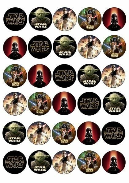 Ebay Cake Toppers Star Wars