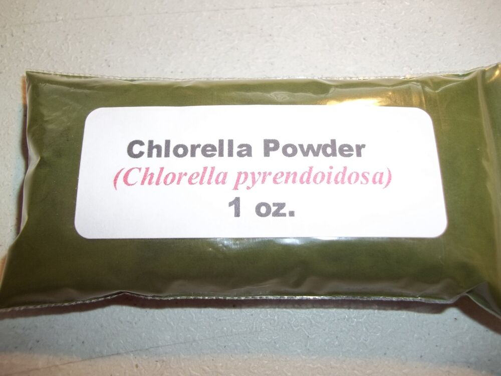 1 Oz Chlorella Powder Chlorella Pyrendoidosa Ebay