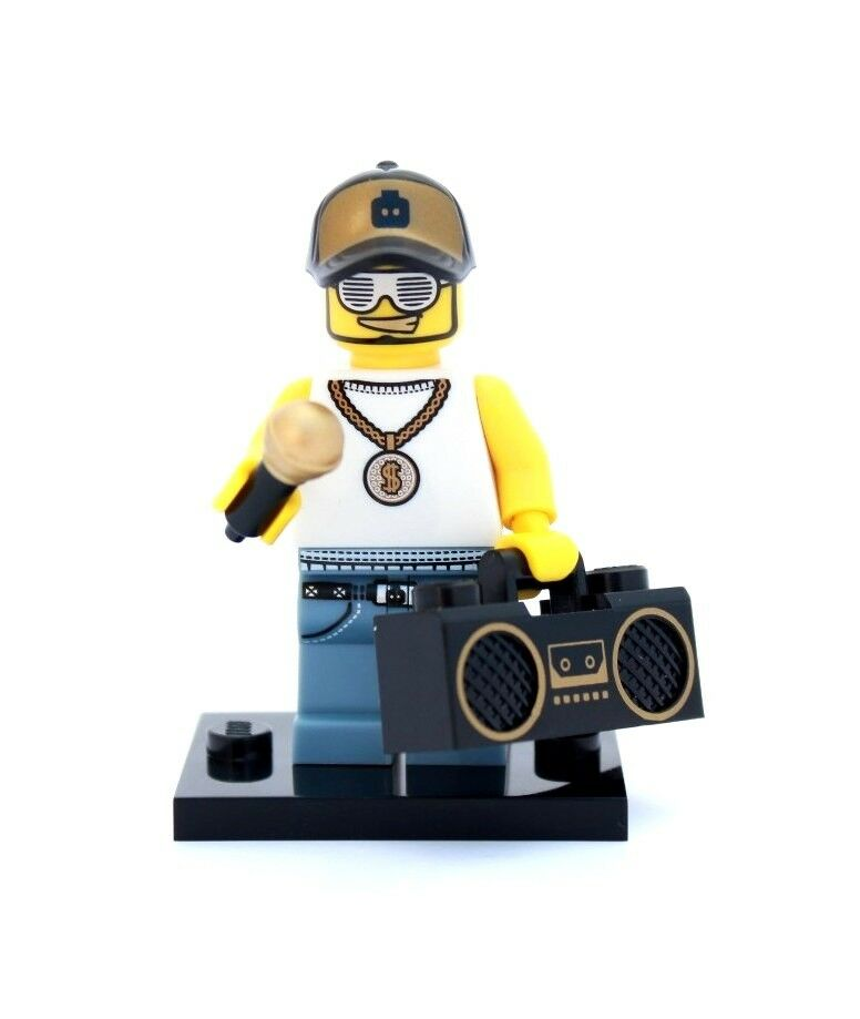new lego minifigures series 3 8803 rapper ebay. Black Bedroom Furniture Sets. Home Design Ideas