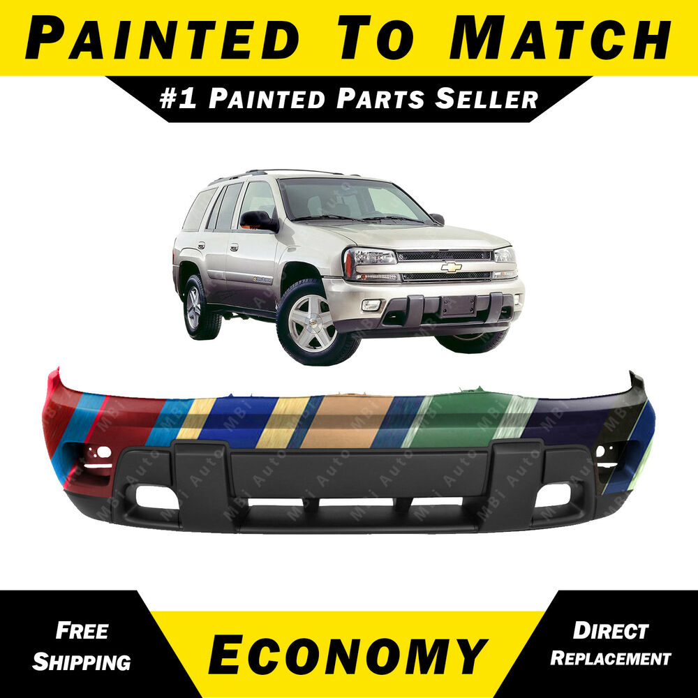 NEW Painted To Match- Front Bumper Cover Replacement 2002