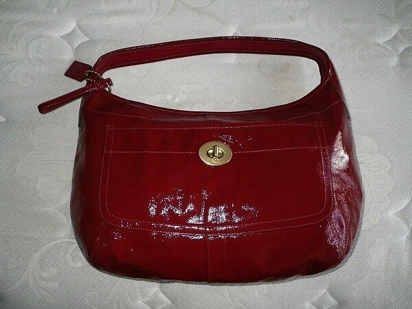 Coach brown leather purses