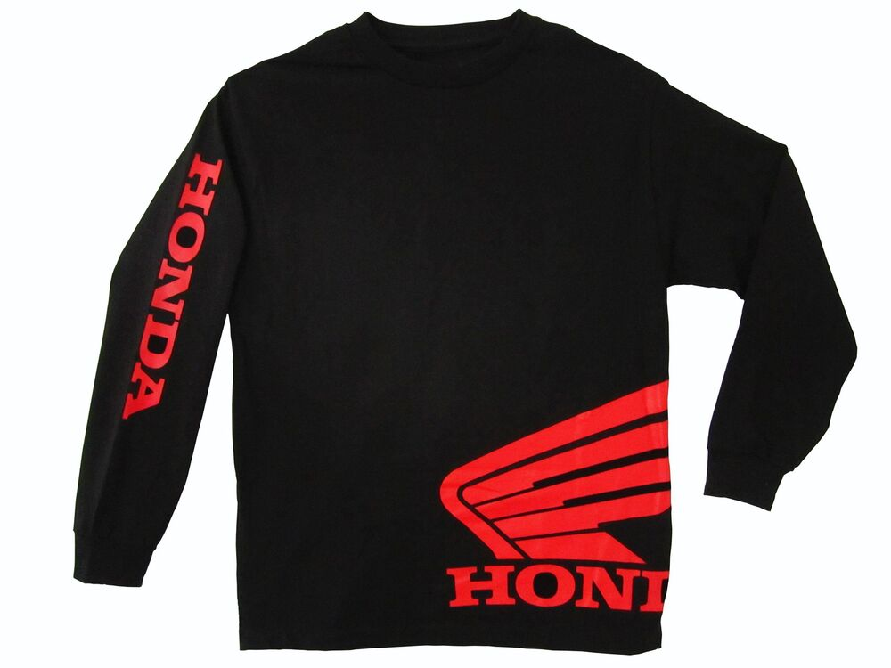 honda wing jersey black t shirt motorcycle racing hrc crf. Black Bedroom Furniture Sets. Home Design Ideas