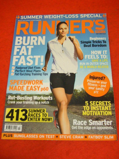 cad700986f RUNNERS WORLD - STEVE CRAM - FATBOY SLIM - JULY 2010