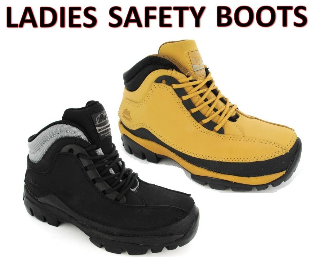 Lightweight Steel Toe Cap Shoes
