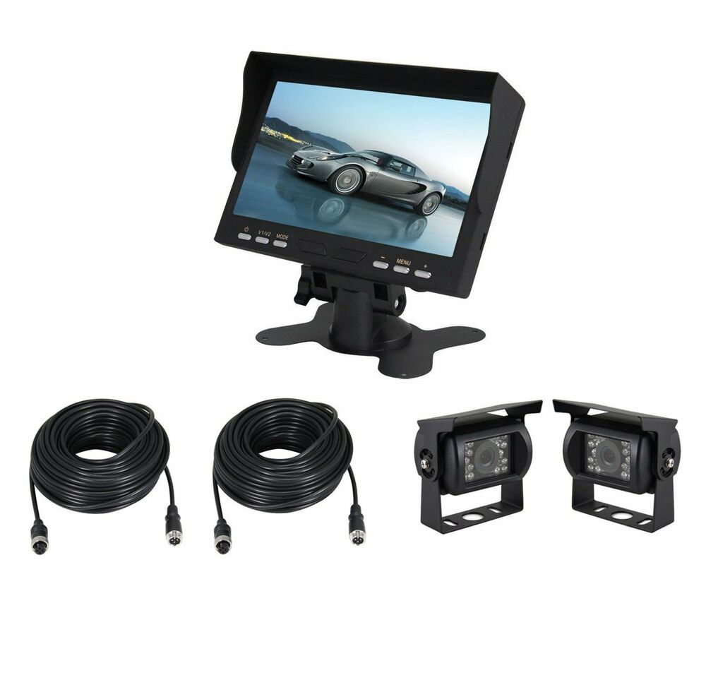 "Esky 7"" TFT Monitor Waterproof Car Rear View Night Vision"