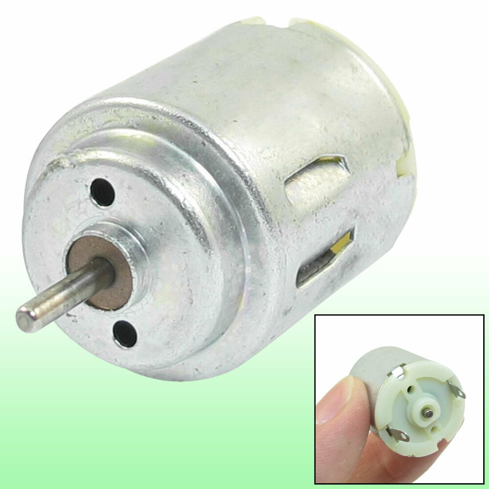 6600 24000rpm 1 5 6v High Torque Cylinder Electric Mini Dc