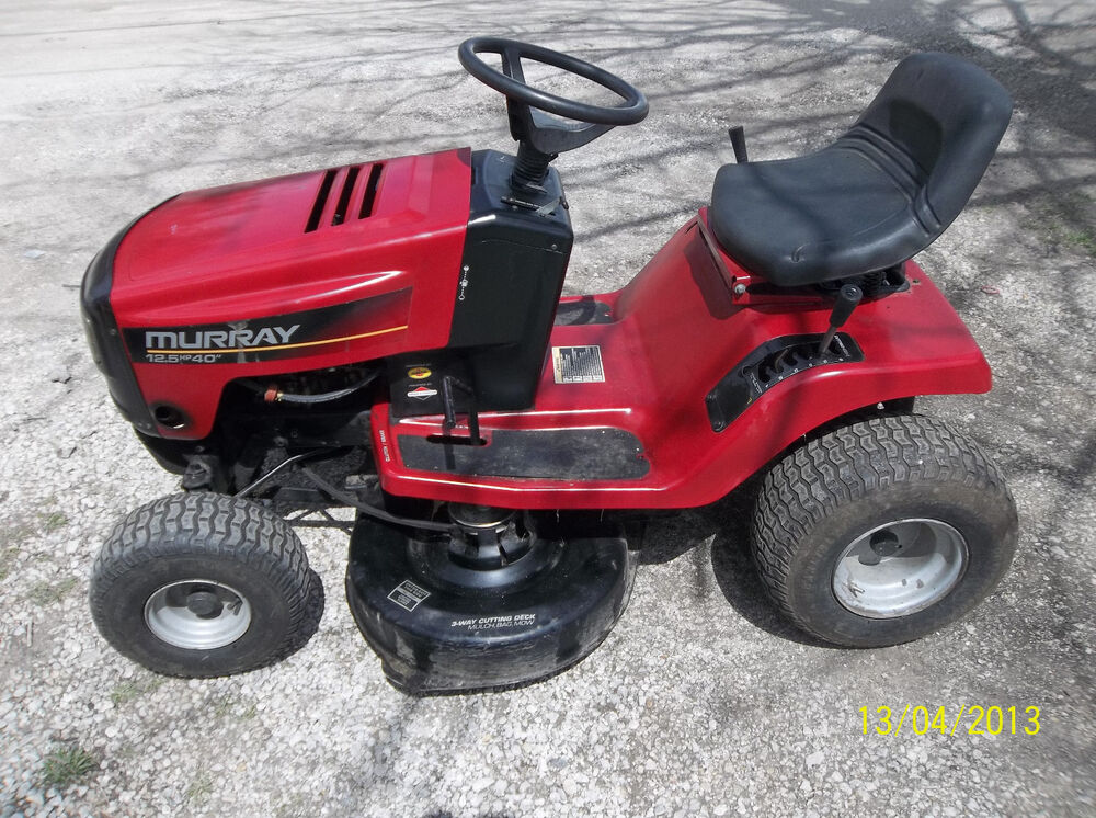 Murray 42 Riding lawn Mower owner s Manual