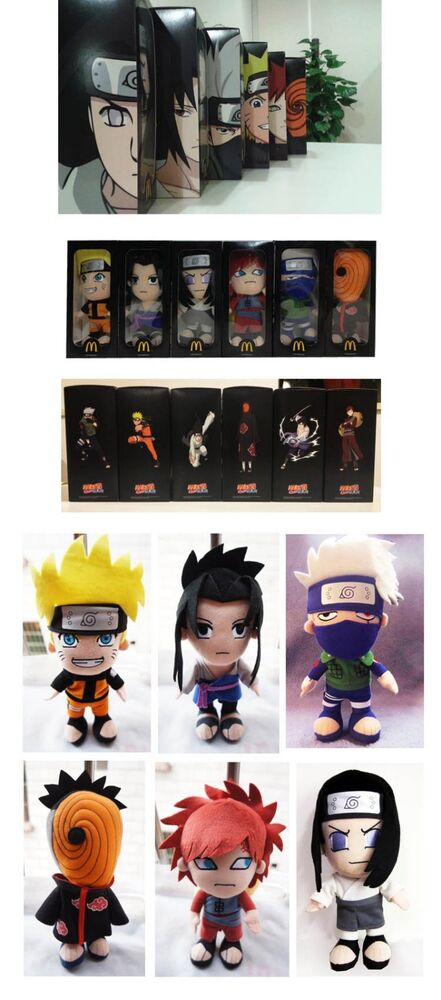 Mcdonald S Happy Meal Toys 2013 : Naruto mcdonald s happy meal toys pc ebay