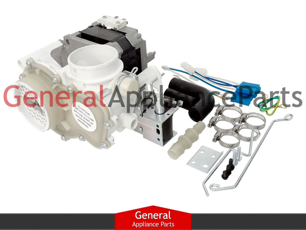 Ge Hotpoint Kenmore Dishwasher Motor Pump Assembly