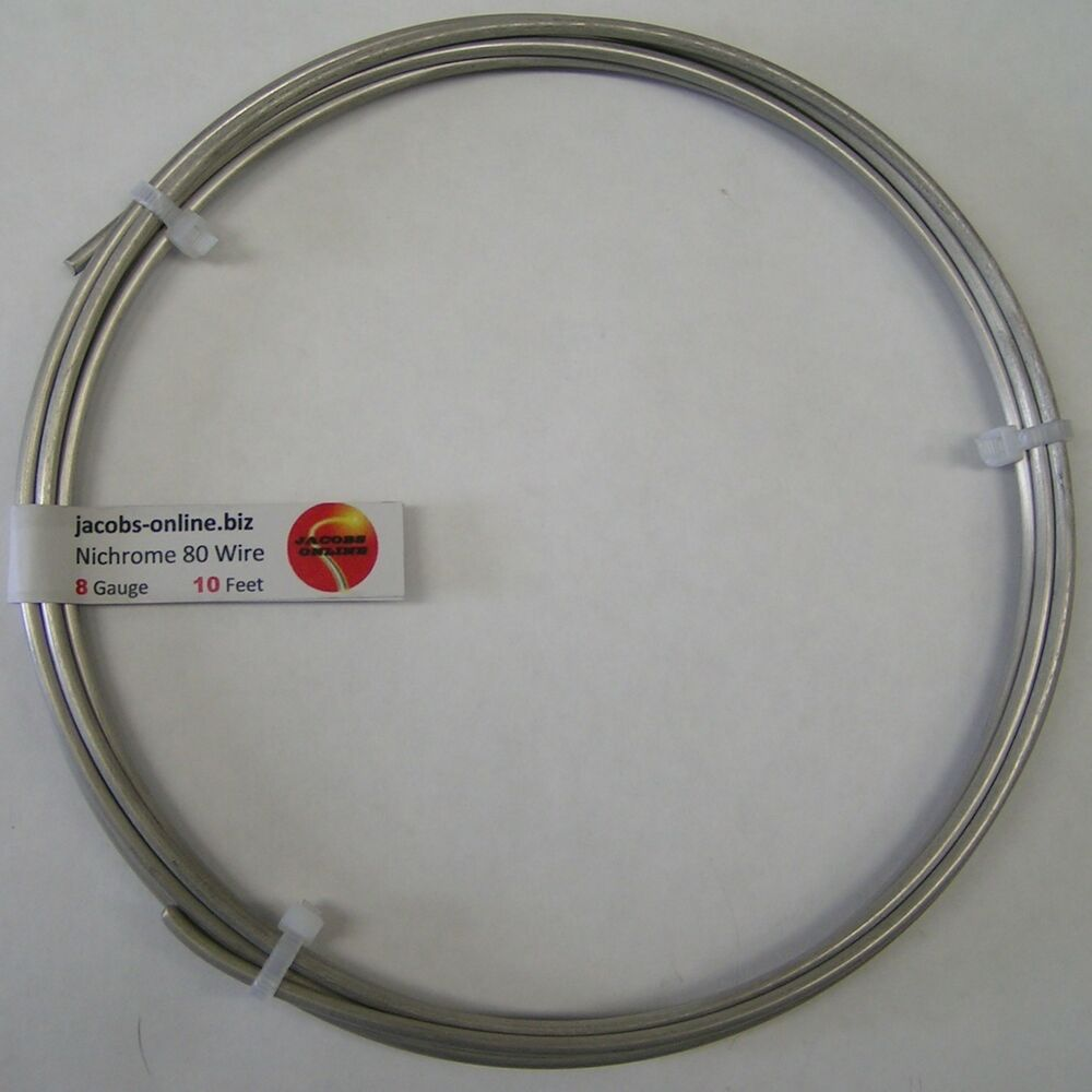 resistance nichrome wire coursework A resistor made of nichrome wire is used in an application where its resistance cannot change more than 100% from its value at 200ºc over what temperature range can it be used − 5ºc to 45ºc of what material is a resistor made if its resistance is 400% greater at 100ºc than at 200ºc.