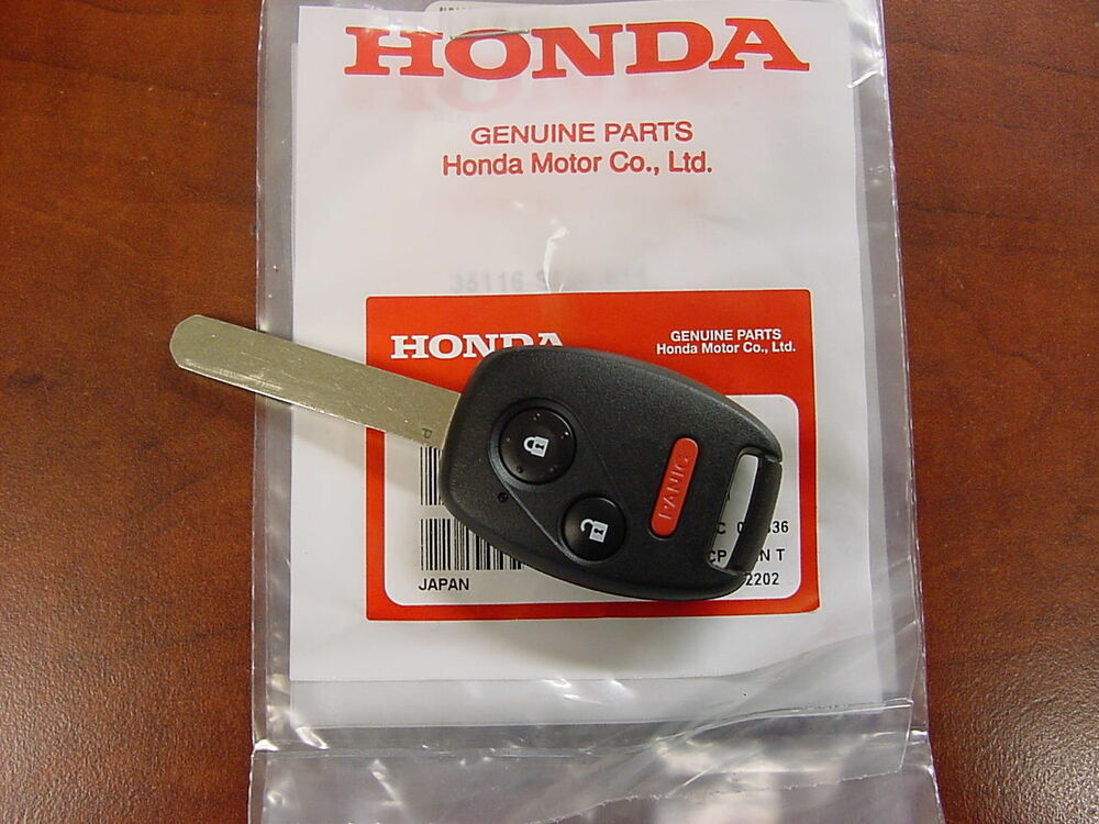 New Genuine Oem 2007 Honda Fit Transmitter Key Fob 35111