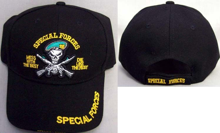 Us Special Forces Military Baseball Caps Hats Embroidered