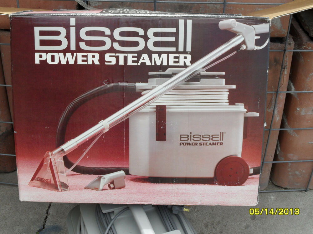 Power Steamers For Cleaning ~ Bissell power steamer deluxe auto detail carpet cleaning