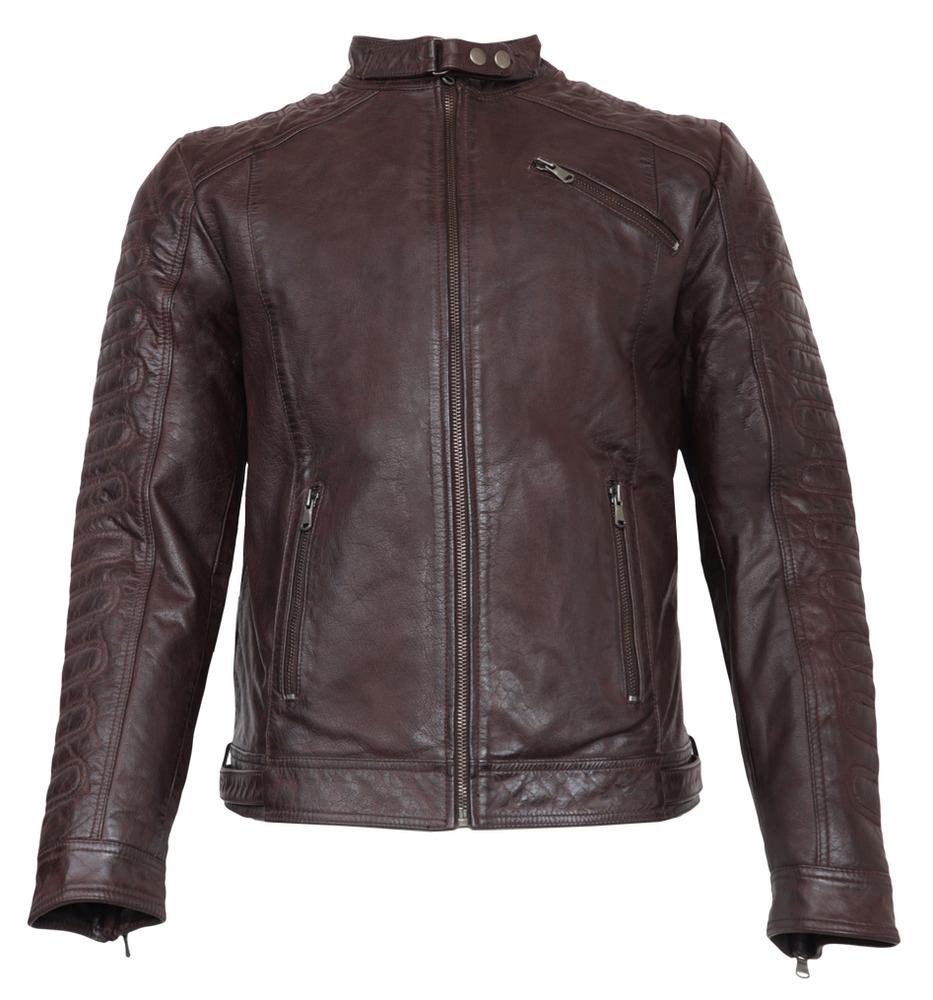 neu erik von ricano herren echt nappa biker lederjacke s m l xl xxl braun ebay. Black Bedroom Furniture Sets. Home Design Ideas