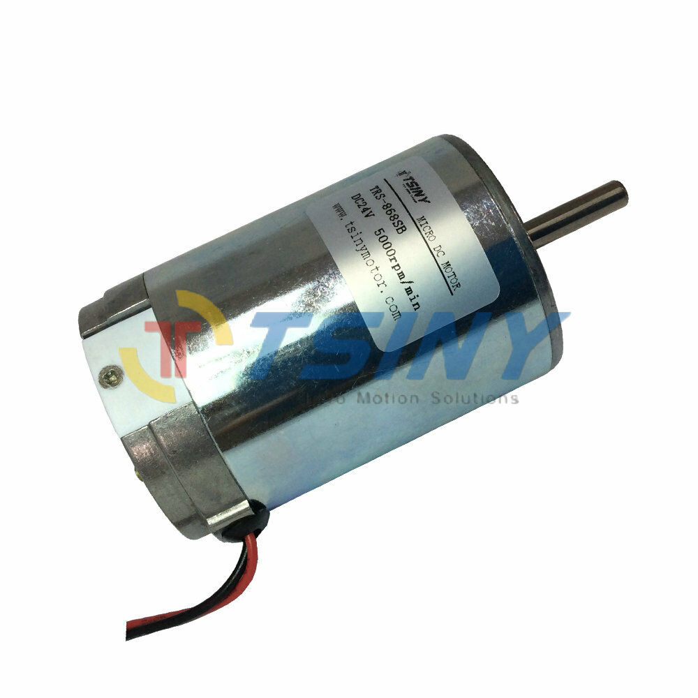 5000rpm High Torque Small Pmdc Electric Brushed 24v Dc