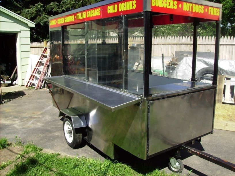 Hot Dog Vending Trailers For Sale