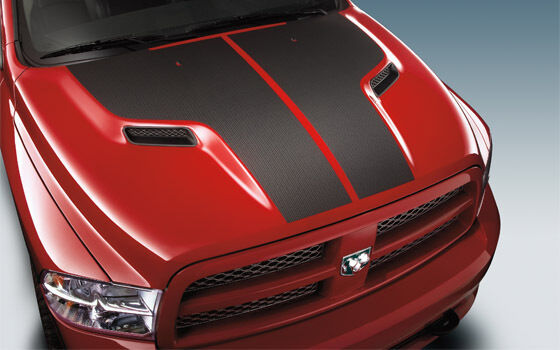 2009 2010 2011 2012 2013 dodge ram mopar hood carbon fiber. Black Bedroom Furniture Sets. Home Design Ideas