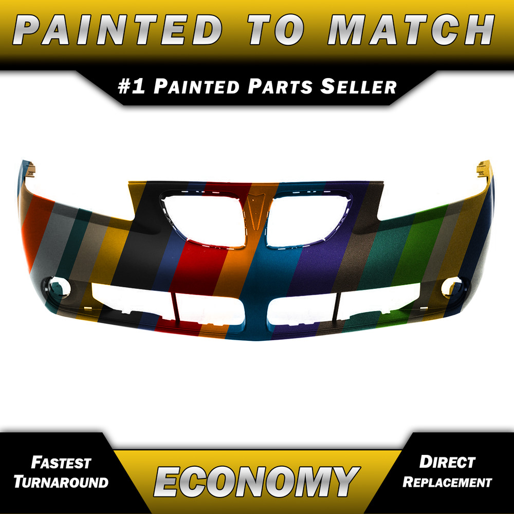New Painted To Match Front Bumper Cover Fascia 2005 2009