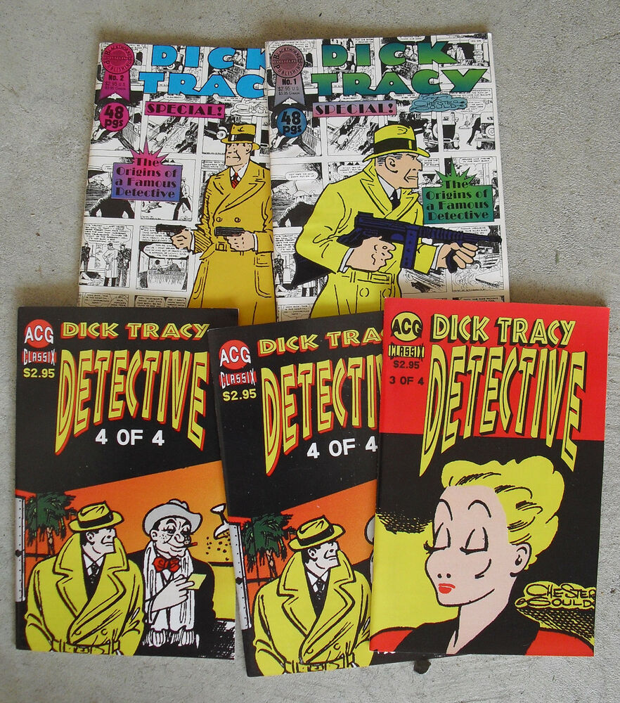 Dick Tracy - Big Little Books - COMICS - DTA Collectibles