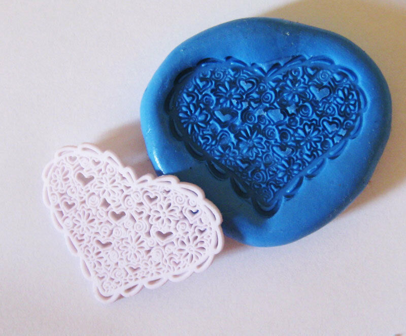 how to use polymer clay push molds